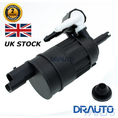 2 Outlet Windscreen Washer Pump For Renault Megane Clio Mk2 Scenic Espace Kangoo