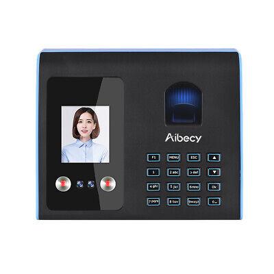 Face Fingerprint Attendance Machine Time Clock Employee Checking-in Reader M0b5