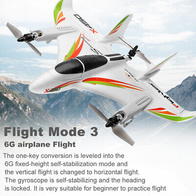 WLtoys XK X450 RC Airplane Fixed Wing Aircraft 2.4G 6CH RC Helicopters M8T8