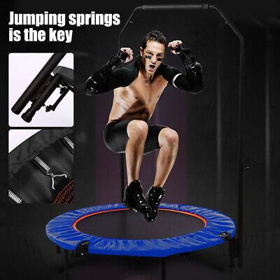 "Fitness Workout Adjustable Angle 40/"" Mini Rebounder Trampoline with EL 01"
