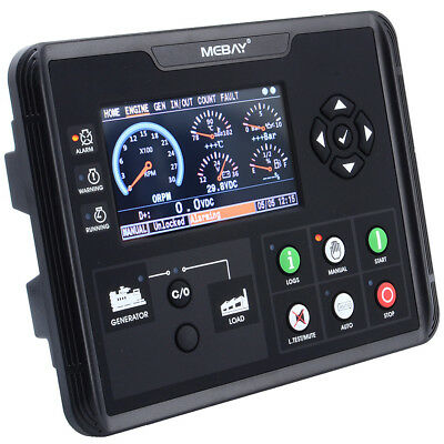 Dc60d Generator Set Controller For Dieselgasolinegas Genset Parameters Monitor