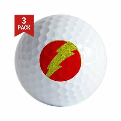 3-Ball Taylor Made Gift Pack (Flash Bolt Superhero Logo) Golf Ball - Golf Balls