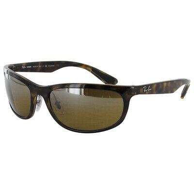 $210 Ray Ban Mens RB4265 Chromance Polarized Sunglasses, Tortoise/Brown (Ray Ban Brown Mirror)