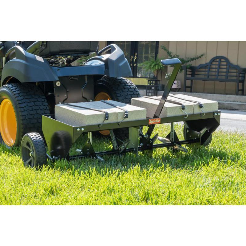 Lawn Aerator Core Plug Aerator Tow Behind Tractor Mower Heav