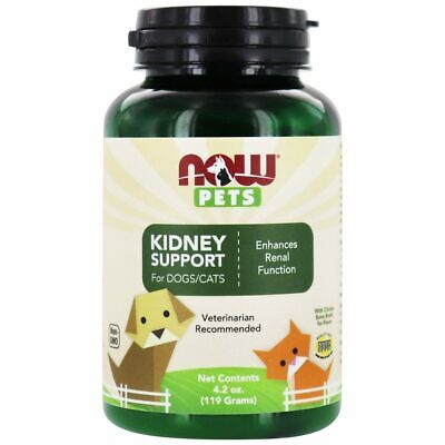 NOW Foods - NOW Pets Kidney Support Powder for Dogs/Cats - 4.2 oz.