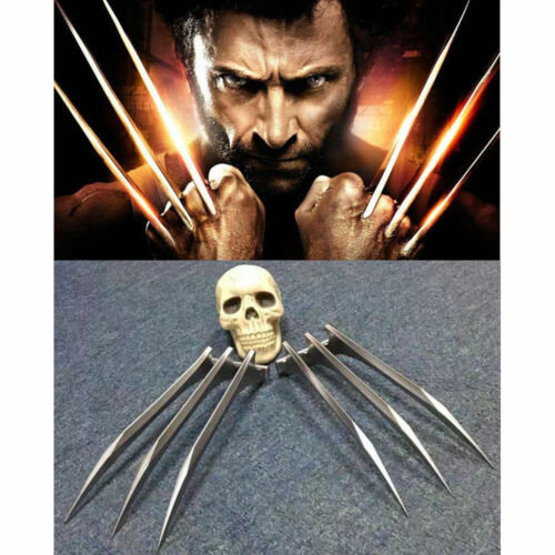 US 1 Pair X-Men Wolverine Logan Claws Blade of Refinement Cosplay Props ABS Claw