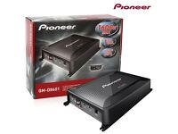 Pioneer GM-D8601 Mono Channel Class-D Car Amplifier 1600W with Bass Boost Remote