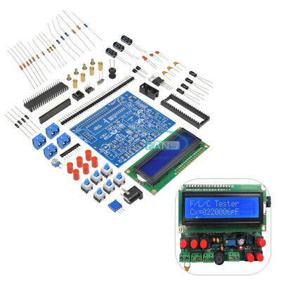 Diy Kit Led Capacitance Frequency Inductance Tester Meter 51 Microcontroller M