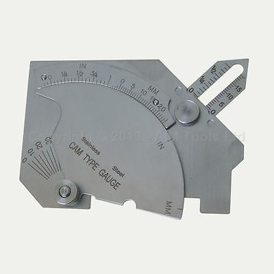 40114510 Welding Gauge Inspection Ruler For Boilers Pipes Gaps Tanks Testing