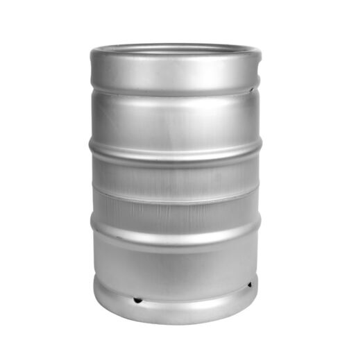 1/2 Barrel Sankey D Commercial Beer Keg New - 15.5 Gallon Dual Handle Ships Free