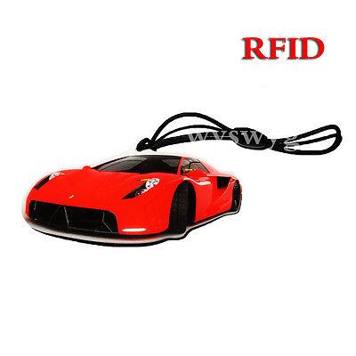 10pcs 125KHz RFID EM4100 EM4102 Proximity Induction Race Car Lanyard Tag Token