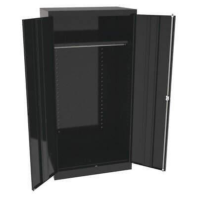 Tennsco 7124bk Wardrobe Cabinet72 H36 Wblack