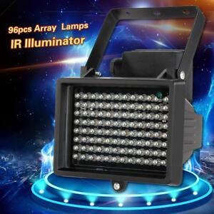 Infrared IR Illuminator 96 LED Security Floodlight Lamp for CCTV Camera Use G5V3