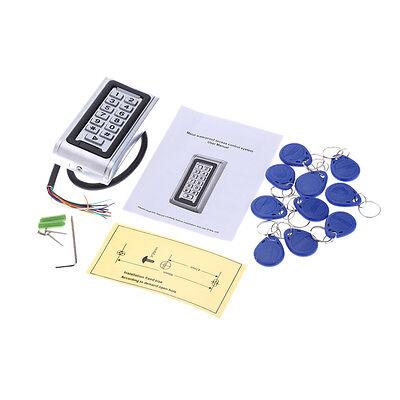 Metal Waterproof Access Control ID Card Reader Keypad 125KHz with 10pcs Key Fob