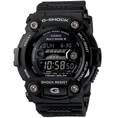 Casio Mens 50 mm G-Shock Solar 6 Atomic  Water Resistant Classic Color Watch, used for sale  Los Angeles
