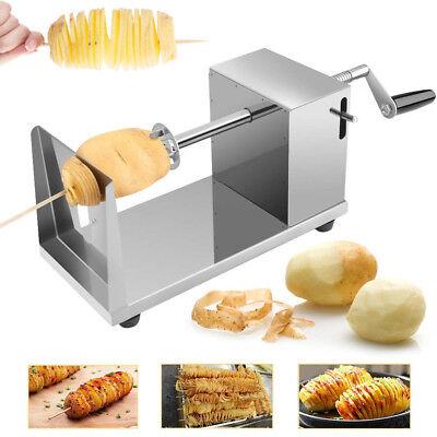 Tornado Vegetable Potato Slicer Machine Spiral Potato Chips Twister Cutter BBQ