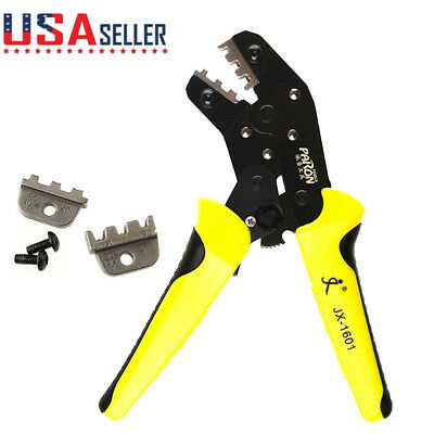 Cable Wire Crimpers Engineering Ratchet Terminal Crimping Pliers Crimper Tool Us