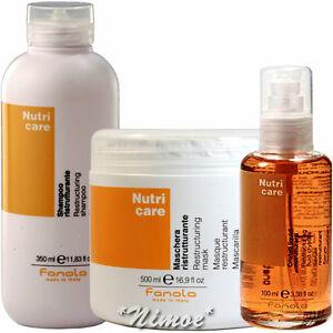 Nutri-Care-start-kit-Mask-Shampoo-Fluid-Crystals-Fanola-Dry-amp-Frizzy-Hair