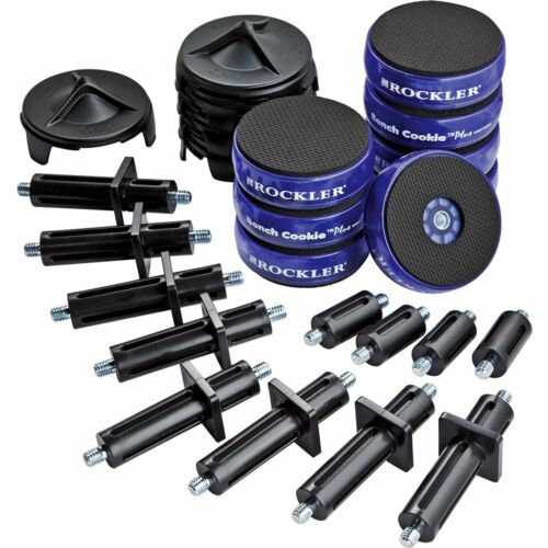 FREE SHIP/ NEW Rockler Bench Cookie Plus Work Grippers Master Kit
