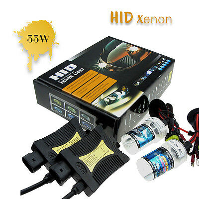 55W HID Xenon Conversion Headlight KIT Bulb H1 H3 H4 H7 H9 H13 9005 9006 9004 7