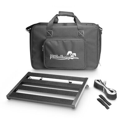 Palmer PEDALBAY® 40 Lightweight Variable Pedalboard inc Protective Softcase 45cm