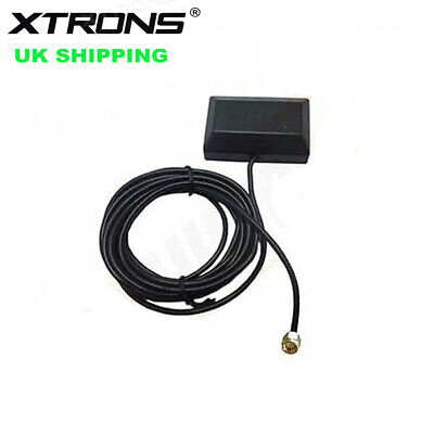 Mini GPS Active Aerial Antenna SMA Male Connector for Car Stereo DVD Player UK