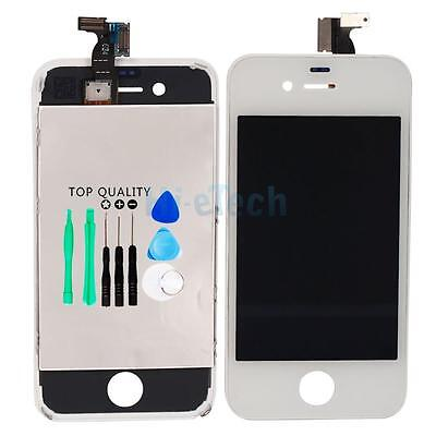 White Replacement Assembly LCD Touch Screen Digitizer Glass GSM OEM for iPhone 4 on Rummage