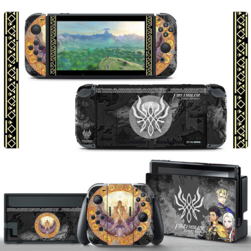 Ci-Yu-Online [NS] Fire Emblem #2 Full Set VINYL SKIN STICKER Nintendo Switch