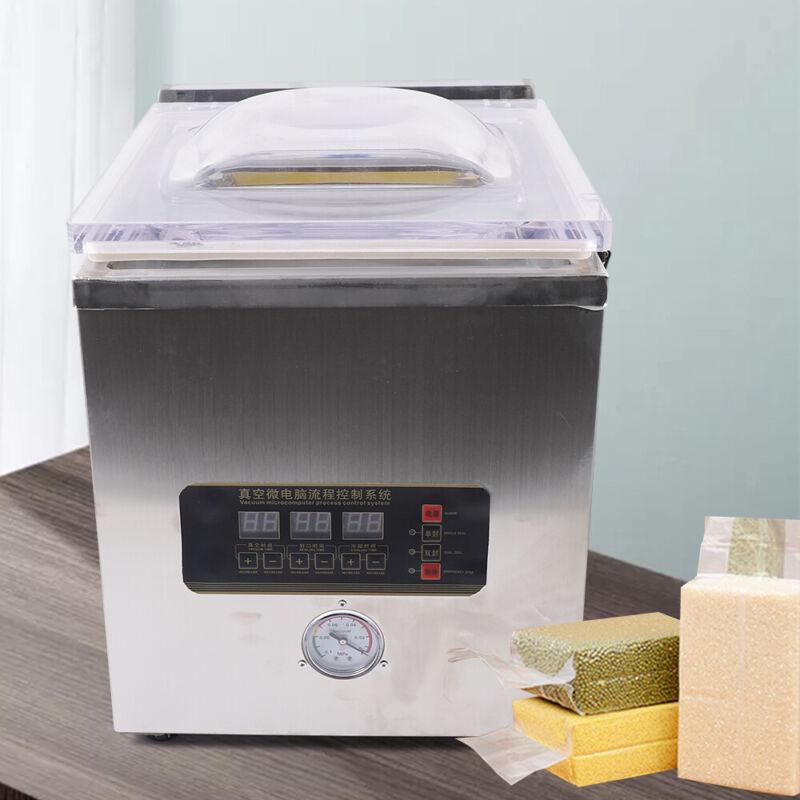 Vacuum Sealer / Commercial Food Chamber Semi-vacuum Sealing Packing Machine 360W
