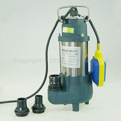 151622 Heavy Duty 250W Submersible Sewage Dirty Waste Water Pump Floating Switch