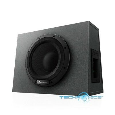 Pioneer Ts Wx1010a 1100 W Max 10  Sealed Enclosure Active Subwoofer Built In Amp