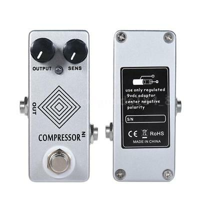 New MOSKY Electric Guitar Dynamic Compressor Effect Pedal True Bypass Gift F5K2