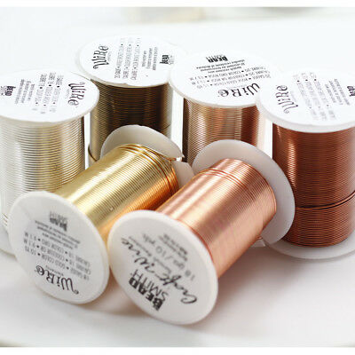 Beadsmith LACQUERED tarnish Resistant Craft Wire 6 Colors 7 Gauges Free Shipping