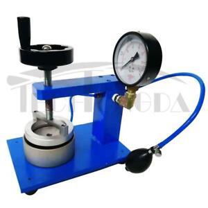 Manual Textile Fabric Hydrostatic Pressure Tester Waterproof Testing Machine#300238