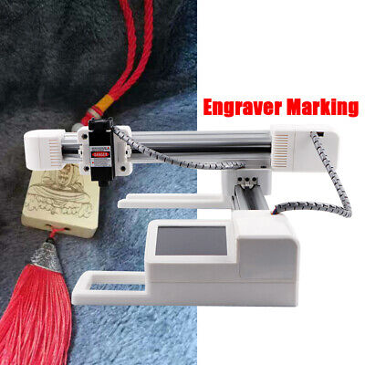 Usa 3000mw Usb Laser Engraver Engraving Machine Logo Mark Printer Cutter Diy New