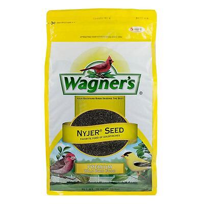 10 lb. Wagner's Nyjer Thistle Seed Goldfinch Purple House Finch Bird Feeder Food
