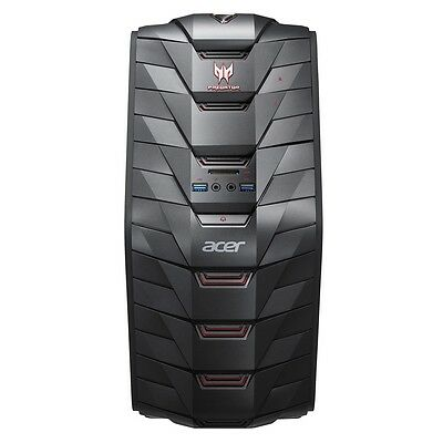 Acer Predator AG3 Gaming Desktop I5-6400 8GB DDR3 1TB 7200RPM. Windows 10