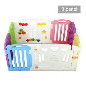 AUS FREE DEL-8 Panels Interactive Baby Safety Playpen Multi-color Sydney City Inner Sydney Preview