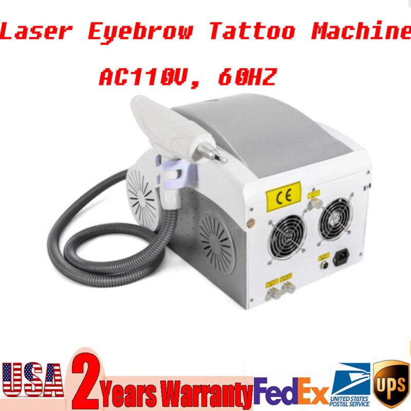 110V YAG Tattoo Removal Machines Laser Eyebrow Pigment Removal Machine
