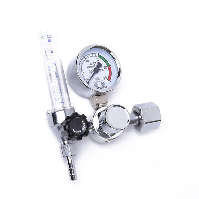 Argon Co2 Mig Tig Flow Meter Welding Weld Regulator Gauge Gas Welder 0-25mpa