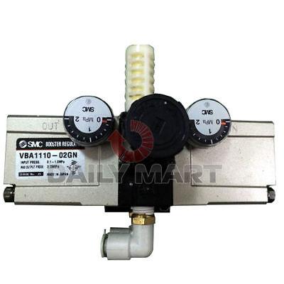 New Smc Vba1110-02gn Vba Series Pneumatic Pressure Boosterregulator 2mpa