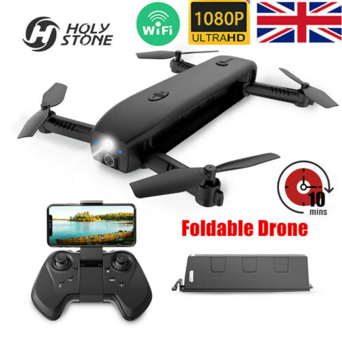 Holy Stone HS161 Foldable RC Drone Quadcopter With HD 1080P Camera WIFI FPV UK