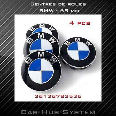 BMW - 4 centres de roues - 68mm -36136783536 - caches moyeux - logo jantes d'occasion  Expédié en Belgium
