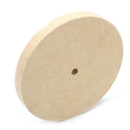 "8 Inch Wool Felt Polishing Grinding Wheel Buffing Pad Disc for Metal 5//8/"" Bore"