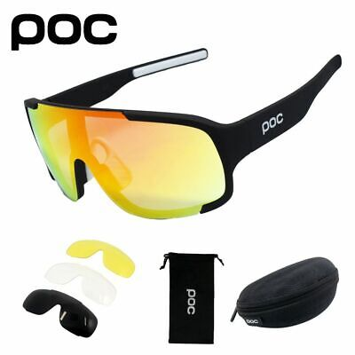 POC Outdoor Cycling Glasses Mountain Bike Goggles Bicycle Sunglasses Men (Best Mountain Bike Glasses)