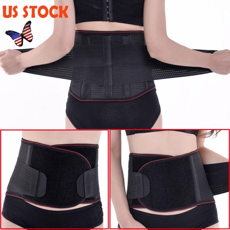 Magnetic Heat Waist Belt Brace For Pain Relief Lower Back Th