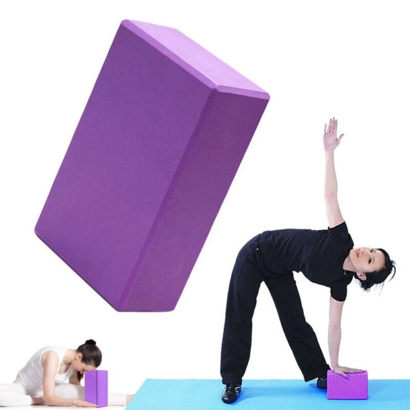 EVA Yoga Blöcke Brick Sports Exercise Fitness Gym Stretching Yoga Ziegel Blöcke