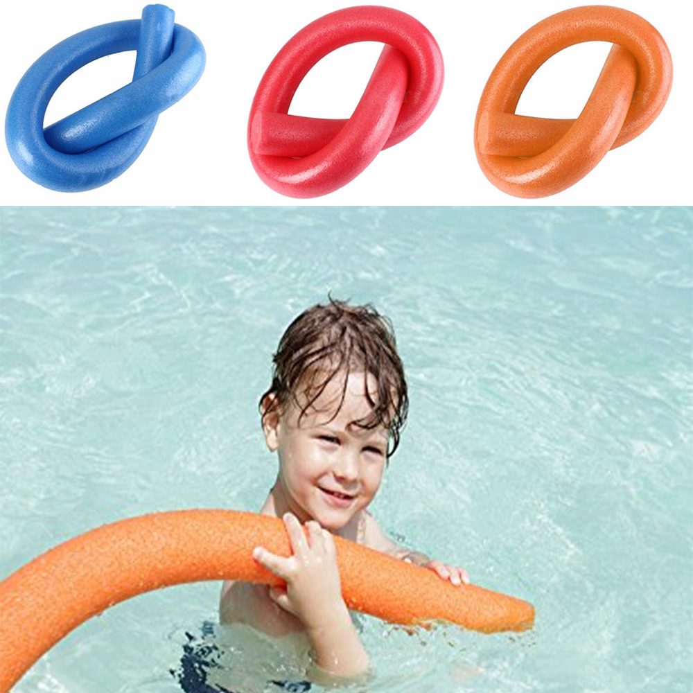 870a4e1df8f92 Details about 6.5*150cm Single Swimming Noodle Float Aid Lexible Floating  SwimFoam Sticks New