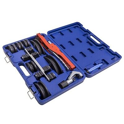 Pipe Tube Bender Hvac Refrigeration Ratchet Bending Fixed Supports Tool Set