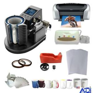 Pneumatic Sublimation Mug Transfer Startup Kit #000971